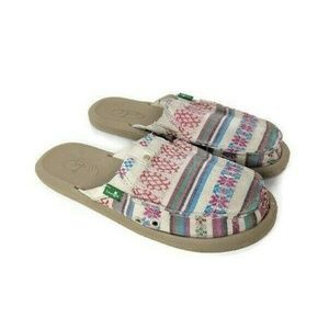 Sanuk Getaway Slip-on Sidewalk Surfer Natural